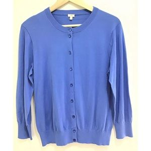 J Crew Cardigan Knit Sweater Buttons Long Sleeve